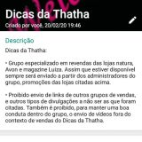 Dicas da Thatha