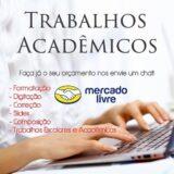 Trabalhos Acadêmicos 🙏🏻🙌🏼😃