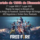 SORTEIO DE 1200K DE DIMAS