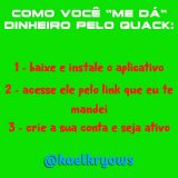 🔥 GANHE DINHEIRO! QUACK 🔥