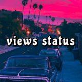 views status ⛅️🍒🏁
