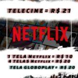 COMPRE TELA NETFLIX E GLOBOPLAY BARATO